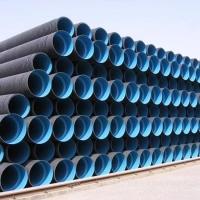 河南鄭州埋地用聚乙烯(HDPE)結構壁管雙壁波紋管雨污水排水
