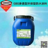 GBS渗透型环保型道桥专用防水涂料交通运输部标准指标