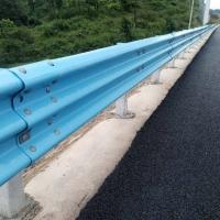 贵州波形梁钢护栏高速防撞护栏高速公路护栏板喷塑护栏板