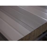 静音室用彩钢冲孔岩棉吸音板-必承吸音板