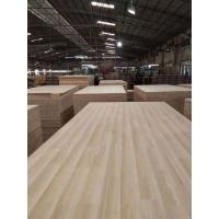 佛山厂家 泰国进口橡胶木拼板指接板 家具板材