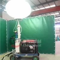 工程应急照明车 夜间施工照明车 升降式照明车
