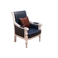 明清家居法式复古单人沙发