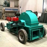 1000型偏出口柴油版多功能木屑机