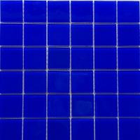 48x48 泳池玻璃马赛克  玻璃马赛克 蓝色马赛克 泳池瓷