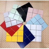 97X97陶瓷马赛克 泳池马赛克 泳池瓷砖 纯色马赛克瓷砖