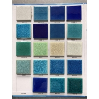 工厂生产:泳池陶瓷马赛克 泳池冰裂纹马赛克 泳池玻璃马赛克