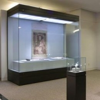 隆城展示長期供應博物館展柜 文物展柜 瓷器展柜