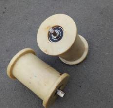 300*180尼龙地滚轮尺寸参数 矿用地滚轮颜色多规格全