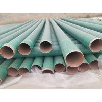 河北衡龙全国供应玻璃钢管道耐腐蚀夹砂管道电缆管道
