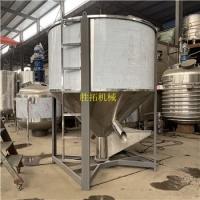 塑料颗粒拌料机加热干粉混料机混合机食品饲料不锈钢立式搅拌机