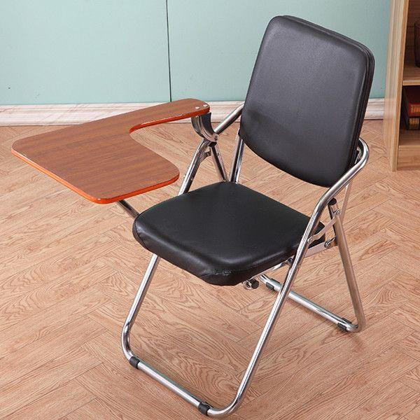 益群正品折叠椅职员椅会议椅办公培训记者椅