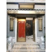 中式院子铜门,中式小院门