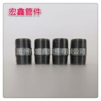 3/4 BSPT 标电镀锌钢管外丝,焊缝钢管接头