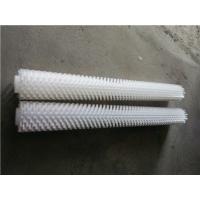 水务机械高低毛刷辊 自来水厂毛刷辊 水务机械毛刷辊-江南刷业