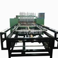 不锈钢置物架网片龙门排焊机 金属网架多头自动排焊机