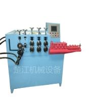 扁铁圆钢铝棒条数控自动打圈机 伺服卷圆成型机