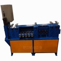 全自动数控扁铜钢板调直切断机 伺服扁铁矫直开料机