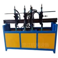 金属方框液压折弯机 钢筋车筐四头油压弯框机