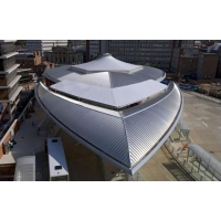 供應0.7mm厚YX65-430鋁鎂錳板/鋁鎂錳金屬屋面