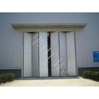 工业厂房电动折叠门-不锈钢工业折叠门厂家
