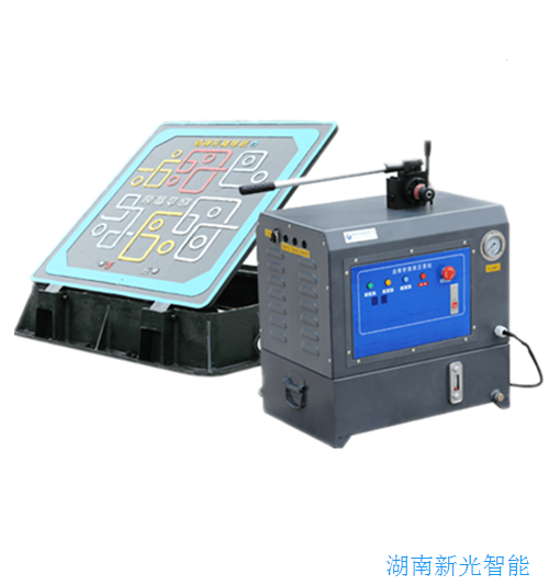 湖南新光球磨铸铁防水自动液压井盖