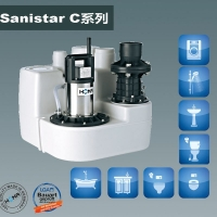 北京順義別墅地下室污水提升器(Sanistar C106w)