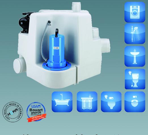 HOMA污水提升器SanistarPlus