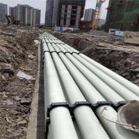 电力管道玻璃钢缠绕拉挤管道尺寸 电力电缆穿线管DN100 B