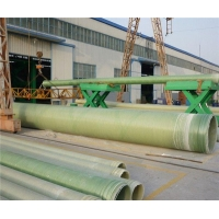 湖北长坂桥环保玻璃钢厂家承插式玻璃钢夹砂管排水玻璃钢夹砂管