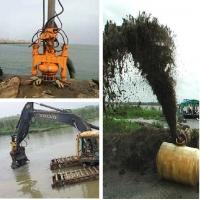 挖掘机液压砂浆泵、河道清淤泥浆泵、挖机抽沙泵