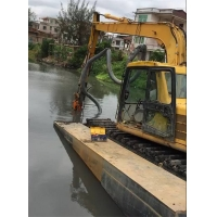 新一代水利设备-挖机清淤泵-挖掘机液压砂浆泵