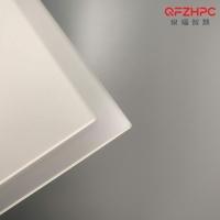 pc光扩散板 单面磨砂乳白扩散板 灯具面板灯箱面板匀光柔光