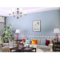 现代简约客厅壁纸 批发壁纸墙布总代直销