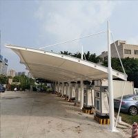 膜結構車棚-汽車棚-膜結構停車棚