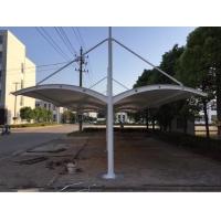 雙開膜結構自行車棚 膜結構雨棚 小區停車棚