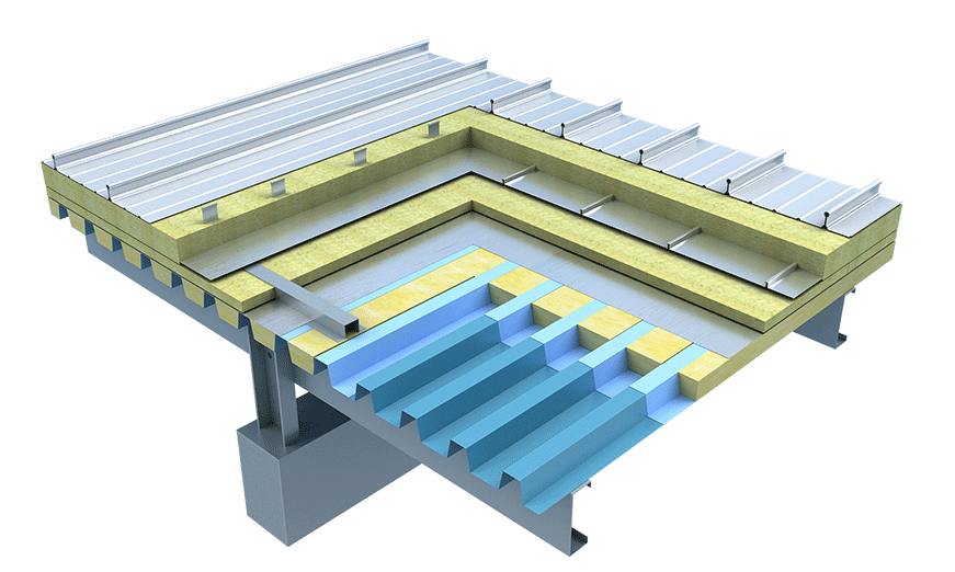 武漢市鋼結構網架屋面板安裝時地域性要點