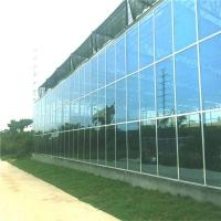玻璃温室大棚建造 连栋花卉玻璃大棚  承建温室工程