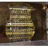 大型商场多功能不锈钢酒架供应