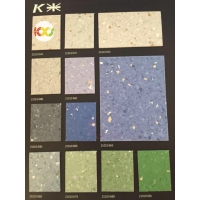 上海PVC地板生产厂家直销开米pp系列商用通透卷材地板革