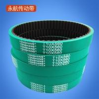 供应拉膜机包装机同步带 T10X610 加厚绿胶同步带
