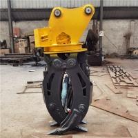 挖掘機夾木器 360度液壓旋轉夾木器