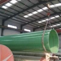 厂家生产玻璃钢排水管道大口径排污管道夹砂缠绕管玻璃钢通风管道