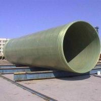 化工污水处理管道 玻璃钢缠绕电缆管 玻璃钢给水管排污雨水管道