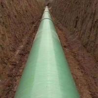 玻璃钢工艺管道 排水排污地埋缠绕管道 夹砂管道 电缆管规格齐