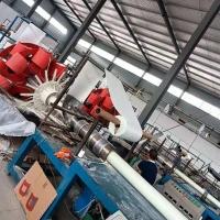 璃钢管道电缆保护管 抗压抗拉保护管 玻璃纤维塑料夹砂管