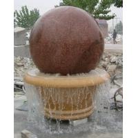 大理石风水球音乐喷泉