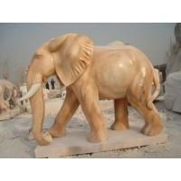 中铭盛世汉白玉大象