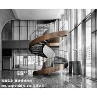 上海金融街钢结构旋转楼梯案例展示