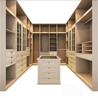 衣柜推拉门 卧室简约现代大家具收纳柜定做整体衣帽间定制